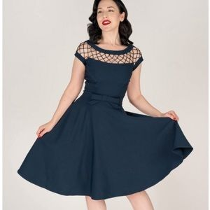 Tatyana Alika circle dress retro swing dress pinup